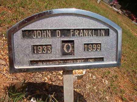 FRANKLIN, JOHN D - Columbia County, Arkansas   JOHN D FRANKLIN - Arkansas Gravestone Photos