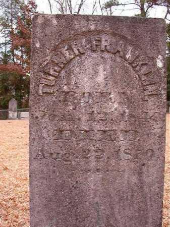 FRANKLIN, TURNER - Columbia County, Arkansas | TURNER FRANKLIN - Arkansas Gravestone Photos