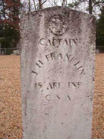 FRANKLIN (VETERAN CSA), J H - Columbia County, Arkansas   J H FRANKLIN (VETERAN CSA) - Arkansas Gravestone Photos