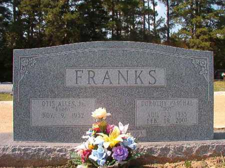 PASCHAL FRANKS, DOROTHY - Columbia County, Arkansas | DOROTHY PASCHAL FRANKS - Arkansas Gravestone Photos