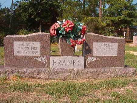 FRANKS, ERNEST F - Columbia County, Arkansas   ERNEST F FRANKS - Arkansas Gravestone Photos