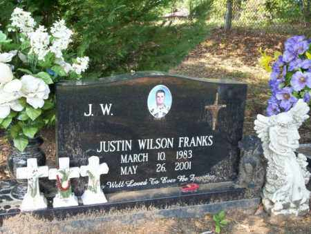 "FRANKS, JUSTIN WILSON ""JW"" - Columbia County, Arkansas 