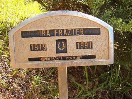 FRAZIER, IRA - Columbia County, Arkansas | IRA FRAZIER - Arkansas Gravestone Photos