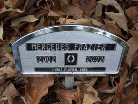 FRAZIER, MERCEDES - Columbia County, Arkansas   MERCEDES FRAZIER - Arkansas Gravestone Photos