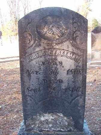 FREEMAN, ROBERSON - Columbia County, Arkansas   ROBERSON FREEMAN - Arkansas Gravestone Photos