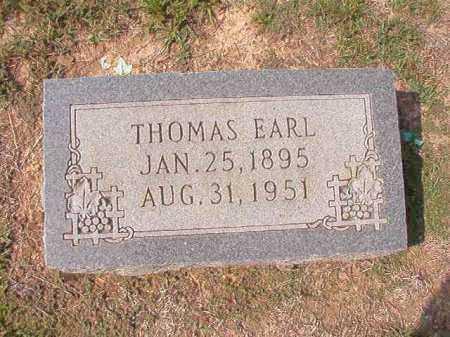 FREEMAN, THOMAS EARL - Columbia County, Arkansas | THOMAS EARL FREEMAN - Arkansas Gravestone Photos