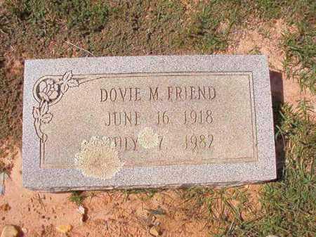FRIEND, DOVIE M - Columbia County, Arkansas   DOVIE M FRIEND - Arkansas Gravestone Photos