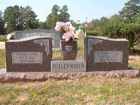 FULLENWIDER, WILLIAM EDWARD - Columbia County, Arkansas | WILLIAM EDWARD FULLENWIDER - Arkansas Gravestone Photos