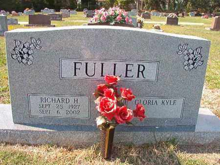 FULLER, RICHARD H - Columbia County, Arkansas | RICHARD H FULLER - Arkansas Gravestone Photos