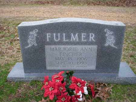 FULMER, MARJORIE ANN - Columbia County, Arkansas   MARJORIE ANN FULMER - Arkansas Gravestone Photos