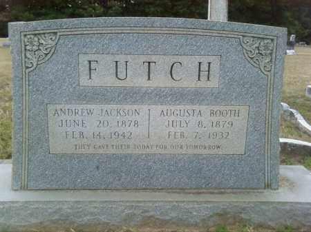 FUTCH, ANDREW JACKSON - Columbia County, Arkansas | ANDREW JACKSON FUTCH - Arkansas Gravestone Photos