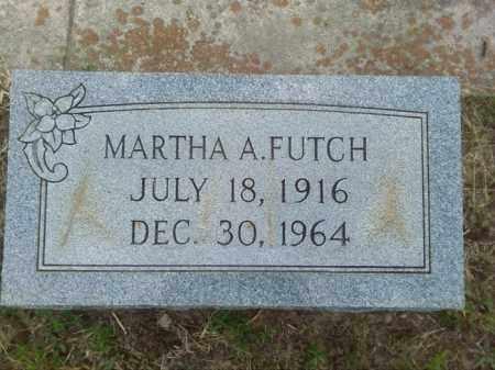 FUTCH, MARTHA A - Columbia County, Arkansas   MARTHA A FUTCH - Arkansas Gravestone Photos