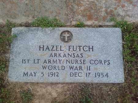 FUTCH (VETERAN WWII), HAZEL - Columbia County, Arkansas | HAZEL FUTCH (VETERAN WWII) - Arkansas Gravestone Photos
