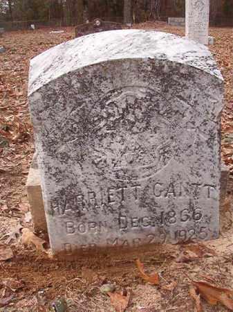 GANTT, HARRIETT - Columbia County, Arkansas   HARRIETT GANTT - Arkansas Gravestone Photos