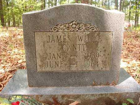 GANTT, JAMES WILLIE - Columbia County, Arkansas | JAMES WILLIE GANTT - Arkansas Gravestone Photos