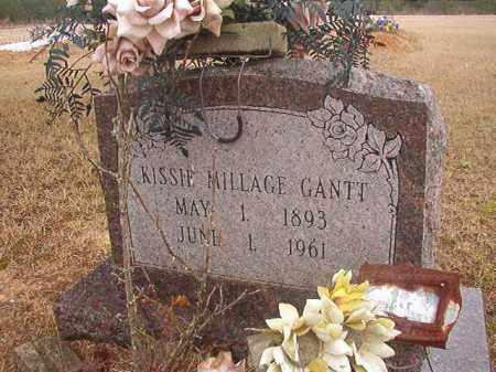MILLAGE GANTT, KISSIE - Columbia County, Arkansas   KISSIE MILLAGE GANTT - Arkansas Gravestone Photos