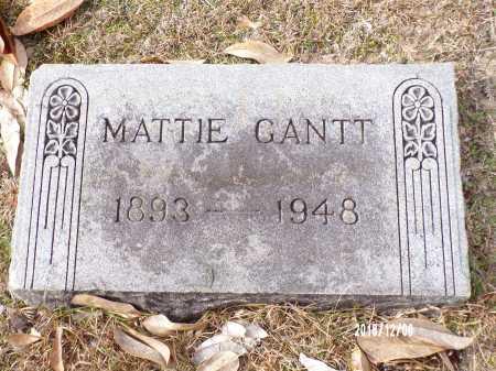 GANTT, MATTIE - Columbia County, Arkansas | MATTIE GANTT - Arkansas Gravestone Photos