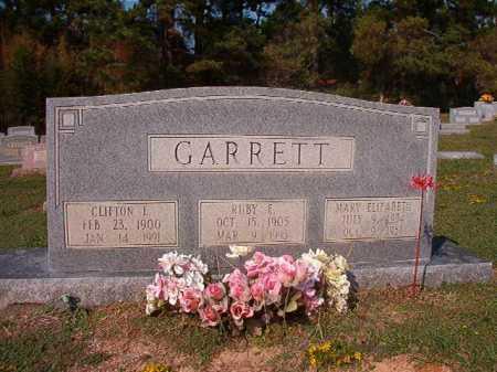 GARRETT, MARY ELIZABETH - Columbia County, Arkansas | MARY ELIZABETH GARRETT - Arkansas Gravestone Photos