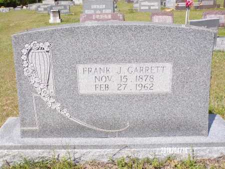 GARRETT, FRANK J - Columbia County, Arkansas | FRANK J GARRETT - Arkansas Gravestone Photos