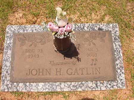 GATLIN, JOHN H - Columbia County, Arkansas | JOHN H GATLIN - Arkansas Gravestone Photos