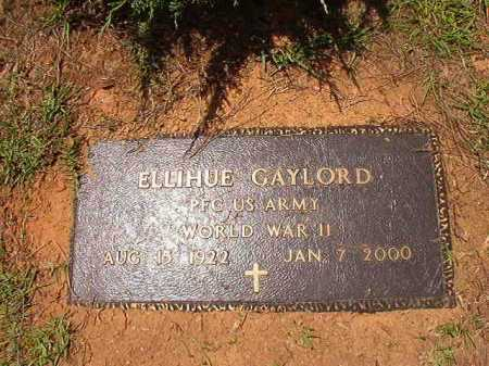 GAYLORD (VETERAN WWII), ELLIHUE - Columbia County, Arkansas | ELLIHUE GAYLORD (VETERAN WWII) - Arkansas Gravestone Photos