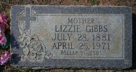 GIBBS, LIZZIE - Columbia County, Arkansas | LIZZIE GIBBS - Arkansas Gravestone Photos