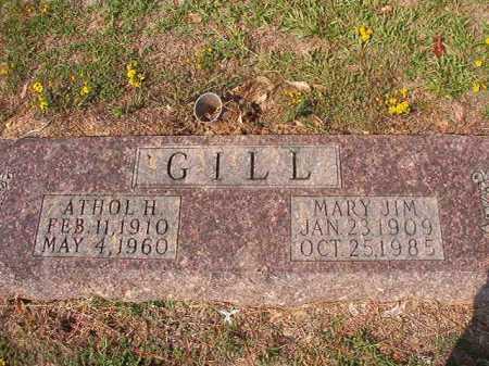 GILL, ATHOL H - Columbia County, Arkansas | ATHOL H GILL - Arkansas Gravestone Photos