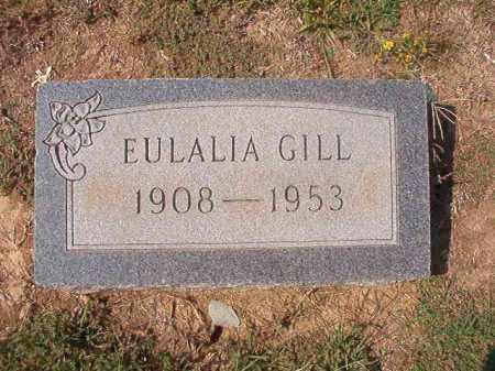 GILL, EULALIA - Columbia County, Arkansas | EULALIA GILL - Arkansas Gravestone Photos