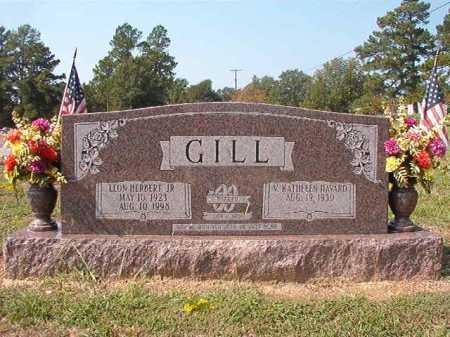 GILL, JR, LEON HERBERT - Columbia County, Arkansas | LEON HERBERT GILL, JR - Arkansas Gravestone Photos