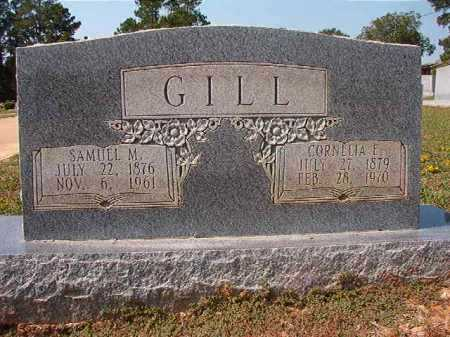 GILL, SAMUEL M - Columbia County, Arkansas | SAMUEL M GILL - Arkansas Gravestone Photos