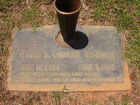 COOPER GILMORE, ROSIE L - Columbia County, Arkansas | ROSIE L COOPER GILMORE - Arkansas Gravestone Photos