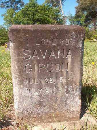 GIPSON, SAVANA - Columbia County, Arkansas | SAVANA GIPSON - Arkansas Gravestone Photos