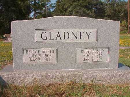 BUSSEY GLADNEY, RUBYE - Columbia County, Arkansas | RUBYE BUSSEY GLADNEY - Arkansas Gravestone Photos
