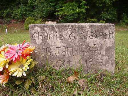 GLASPER, CHARLIE G - Columbia County, Arkansas | CHARLIE G GLASPER - Arkansas Gravestone Photos