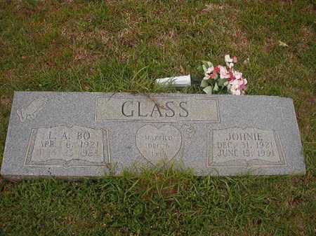 GLASS, JOHNIE - Columbia County, Arkansas   JOHNIE GLASS - Arkansas Gravestone Photos