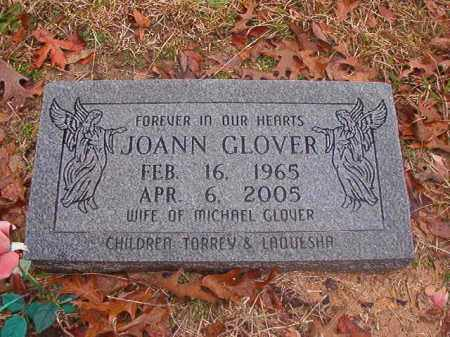 GLOVER, JOANN - Columbia County, Arkansas | JOANN GLOVER - Arkansas Gravestone Photos