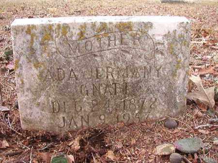 GNATT, ADA - Columbia County, Arkansas | ADA GNATT - Arkansas Gravestone Photos
