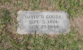 GOODE, DAVID D - Columbia County, Arkansas | DAVID D GOODE - Arkansas Gravestone Photos
