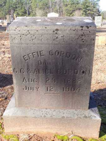 GORDON, EFFIE - Columbia County, Arkansas | EFFIE GORDON - Arkansas Gravestone Photos