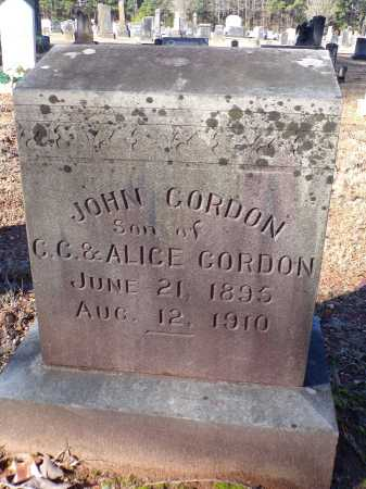 GORDON, JOHN - Columbia County, Arkansas | JOHN GORDON - Arkansas Gravestone Photos