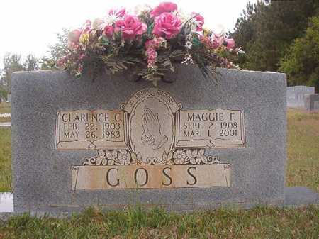 GOSS, CLARENCE C - Columbia County, Arkansas | CLARENCE C GOSS - Arkansas Gravestone Photos