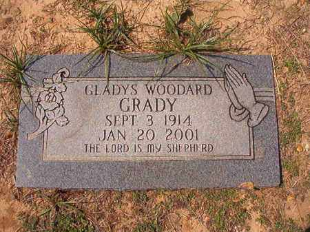 GRADY, GLADYS - Columbia County, Arkansas | GLADYS GRADY - Arkansas Gravestone Photos