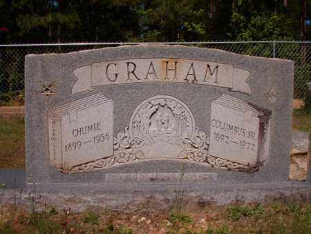 GRAHAM, CHUMIE - Columbia County, Arkansas | CHUMIE GRAHAM - Arkansas Gravestone Photos