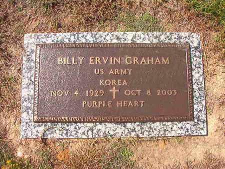 GRAHAM (VETERAN KOR), BILLY ERVIN - Columbia County, Arkansas   BILLY ERVIN GRAHAM (VETERAN KOR) - Arkansas Gravestone Photos