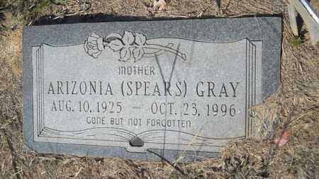 GRAY, ARIZONIA - Columbia County, Arkansas | ARIZONIA GRAY - Arkansas Gravestone Photos