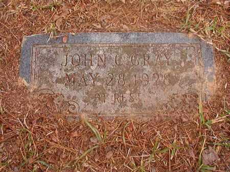 GRAY, JOHN C - Columbia County, Arkansas | JOHN C GRAY - Arkansas Gravestone Photos