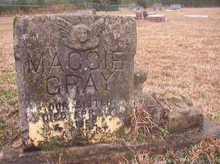 GRAY, MAGGIE - Columbia County, Arkansas | MAGGIE GRAY - Arkansas Gravestone Photos
