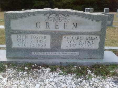 GREEN, MARGARET ELLEN - Columbia County, Arkansas | MARGARET ELLEN GREEN - Arkansas Gravestone Photos