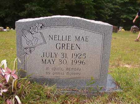GREEN, NELLIE MAE - Columbia County, Arkansas | NELLIE MAE GREEN - Arkansas Gravestone Photos