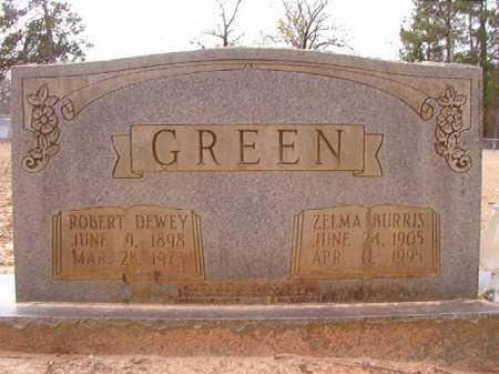 GREEN, ROBERT DEWEY - Columbia County, Arkansas | ROBERT DEWEY GREEN - Arkansas Gravestone Photos